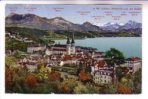 Townview, Mountain Heights, Luzern, Switzerland, Wehrli Photo