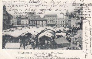 Charleroi , Belgium, Marche de la Ville-Basse, 00-10s