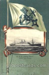 Konig Albert Norddeutscher Lloyd Ship Ships Postcard Postcards 1901