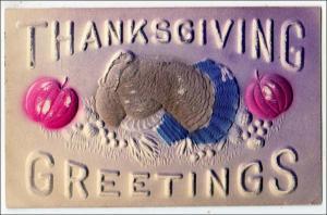 Thanksgiving, Heavy Embossed Turkey