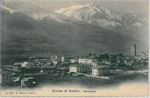 35946   CARTOLINA d'Epoca SONDRIO citta'  -  PANORAMA 1905