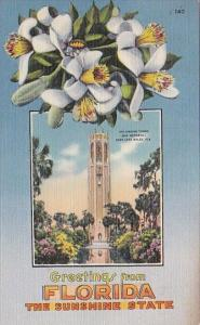 Greetings From Florida The Sunshine State The Singing TowerNear Lake Wales Fl...