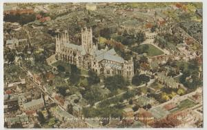 Kent; Canterbury Cathedral From The Air PPC By Valentines, Unused, c 1930's