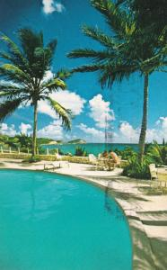 ANTIGUA , West Indies , PU-1976 ; Half Moon Bay Hotel, Swimming Pool