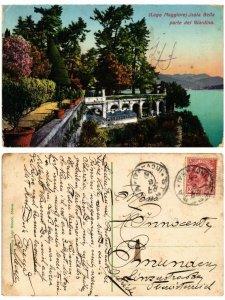 CPA Lago Maggiore Isola BELLA parte del giardino . ITALY (508378)