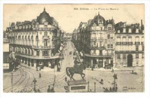 Orléans , France, 00-10s   Le Place du Martroi