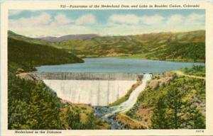 CO- Boulder Canyon. Nederland Dam and Lake