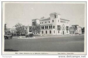 RPPC Lima. Palaceto de la Embajada Argentina Casa Davilla Lima Peru 1945