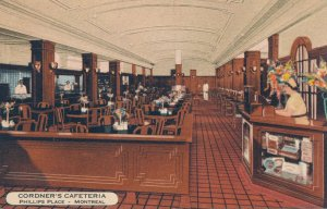 Cordner's Cafeteria at Phillips Place - Montreal QC, Quebec, Canada - Roadside