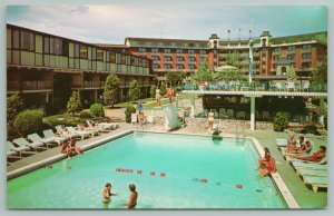 Louisville Kentucky~Executive Inn Hotel Building~Vintage Postcard