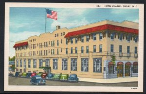 North Carolina colour Hotel Charles, Shelby, N.C unused