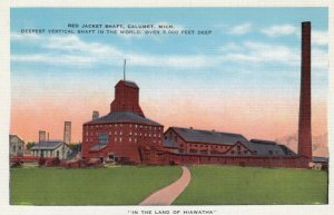 CALUMET, Michigan, 1930-40s; Red Jacket Shaft (Mining)