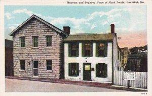 Missouri Hannibal Museum And Boyhood Home Of Mark Twain