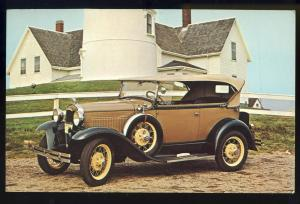 Sandwich, Mass/MA Postcard, 1931 Model A Phaeton, Cape Cod