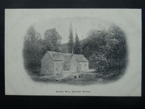 Warwickshire SALFORD PRIORS Cleeve Mill - Old Postcard by Winter Series
