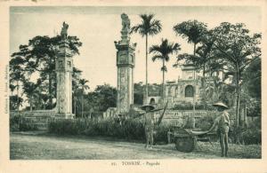 CPA Vietnam Indochine TONKIN - Pagode (62625)