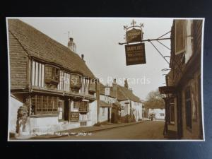 Sussex ALFRISTON The Old Star Inn & The George Inn - Old RP Postcard by Judges