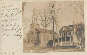 RP: RAHWAY , New Jersey, 1907 ; Presbyterian Church