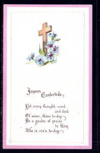 Joyous Easter,Cross Flowers