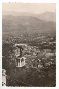 RP, Vue Panoramique Et Telepherique De La Bastille, Grenoble (Isère), France...