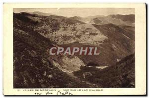 Old Postcard Masevaux Valley Of View On The Lake D & # 39Alfeld