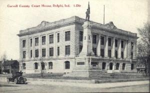 Carroll County Court House Delphi IN unused
