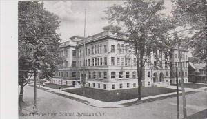 New York Syracuse South Side High School