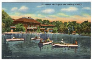 Chicago, Lincoln Park Lagoon and Refectory