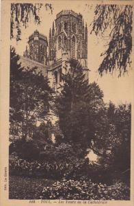 France Toul Les Tours de la Cathedrale 1936
