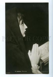 139486 Pray of Girl by LEFEBVRE vintage PC