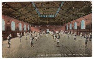 Brunswick, Maine, Interior Bowdoin College Gymnasium