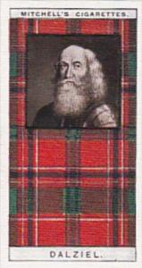 Mitchell Vintage Cigarette Card Clan Tartans No 5 DALZIEL