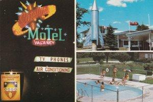 CAMBRIDGE, Ontario, Canada, 1950-70s; 3-Views, Satellite Motel, Swimming Pool