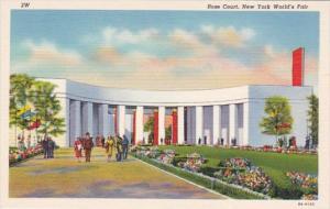 New York World's Fair 1939 Rose Court Curteich