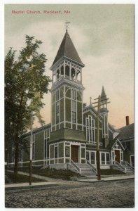 Rockland, Me, Baptist Church