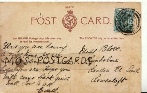 Genealogy Postcard - Blore - Lynholme - London Road South - Lowestoft Ref 8998A