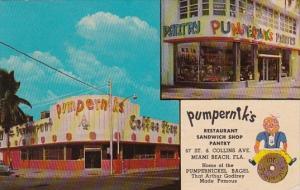 Florida Miami Beach Pumpernik's Restaurant and Sandwich Shop