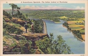 A Susquehanna Spectacle The Indian Lookout At Wyalusing Harrisburg Pennsylvania