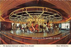 The Spokane Carrousel Riverside, Rhode Island, RI, USA Unused