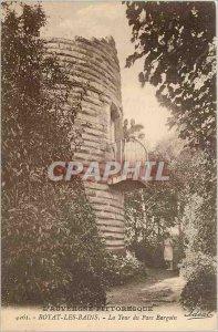 Old Postcard Royat les Bains La Tour du Parc Bargoin