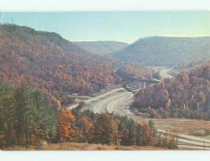 Unused Pre-1980 BRIDGE SCENE Jellico And Lafollette Tennessee TN HQ8582-16