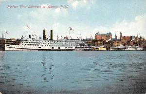 3988 Hudson River Steamers at Albany, N.Y.