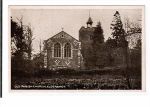 ALDERSHOT, Hampshire, England, 1900-1910's; Old Parish Church