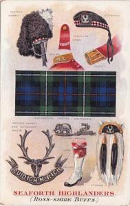 Military Band Uniforms Seaforth Highlanders