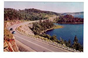 Nova Scotia Tourist Bureau Inquiry Postcard Eastern Shore Highway