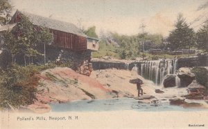 NEWPORT, New Hampshire, 1900-1910's; Pollard's Mills