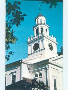 Unused Pre-1980 CHURCH SCENE Woodstock Vermont VT A7651