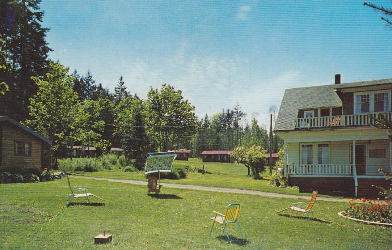 PARKSVILLE, British Columbia, Canada, 1940-1960's; Kaufman's French Creek Lod...