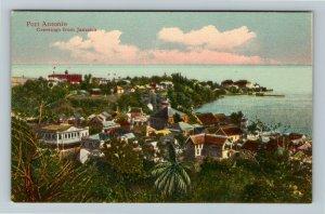 Port Antonio Greetings From Jamaica Vintage Postcard