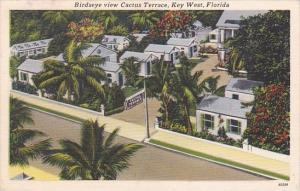 Florida Key West Birds Eye View Cactus Terrace Cottages and Motel